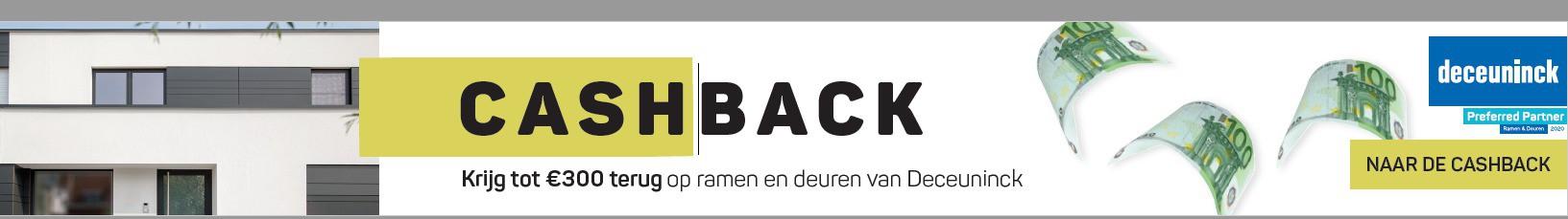 Cashback Deceuninck