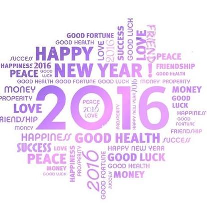 Onze beste wensen voor 2016 !